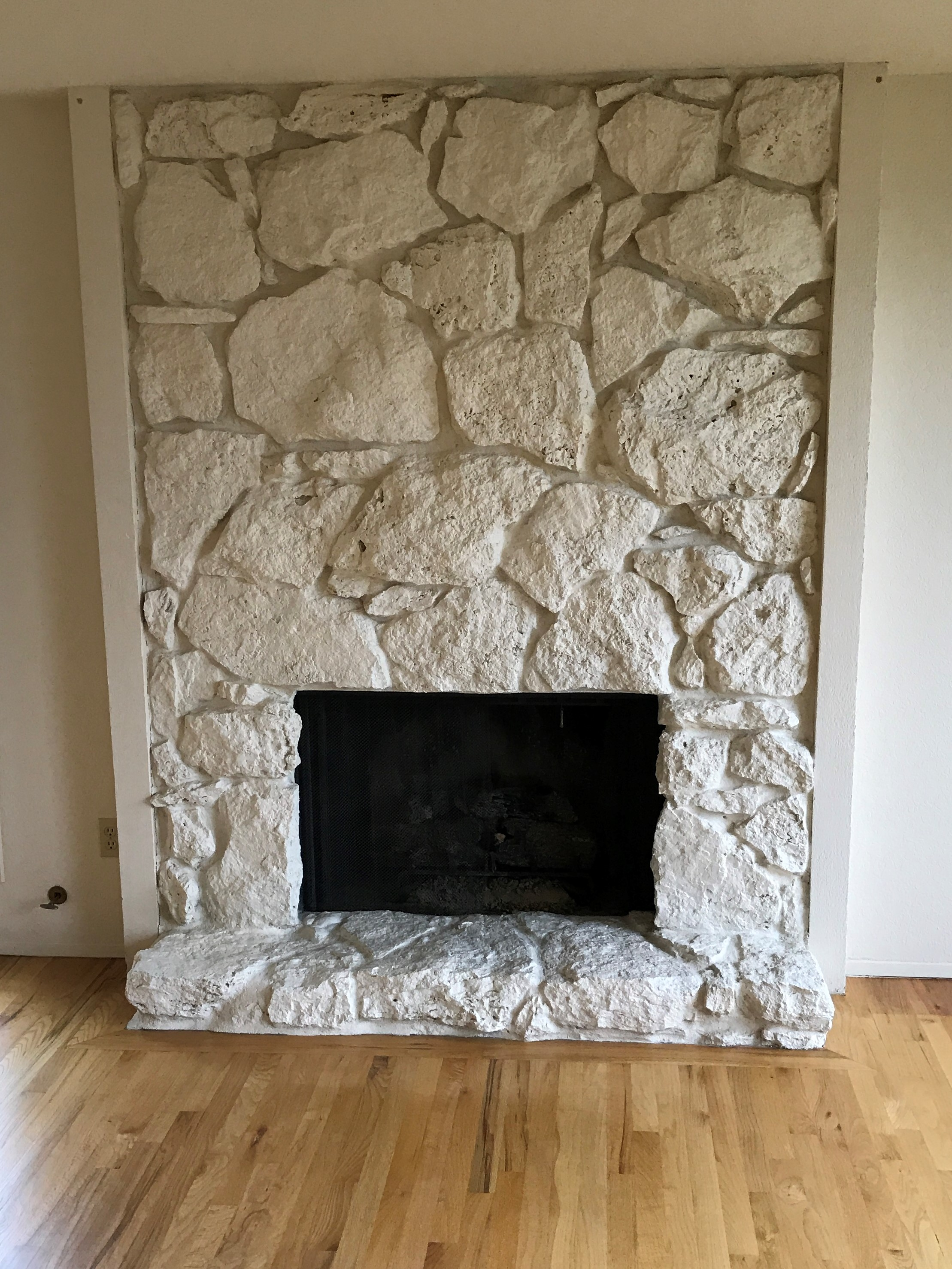 The 70's Called, They Want Their Fireplace Back.