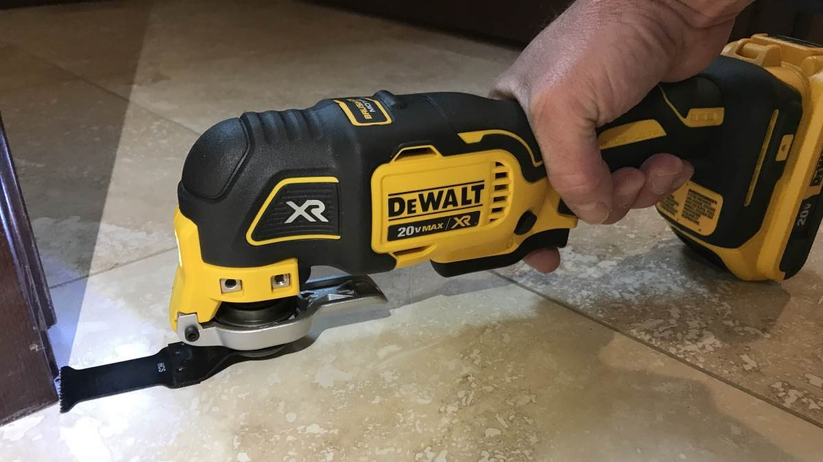 DeWalt 20V Max Cordless Oscillating Tool Review DCS355