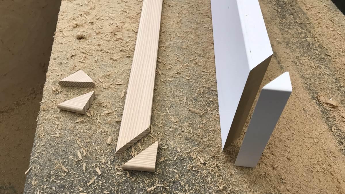 Easy DIY Craftsman Door Trim